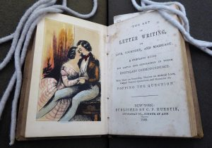 """The art of good behaviour; and letter writer on love, courtship, and marriage"" (1848)"