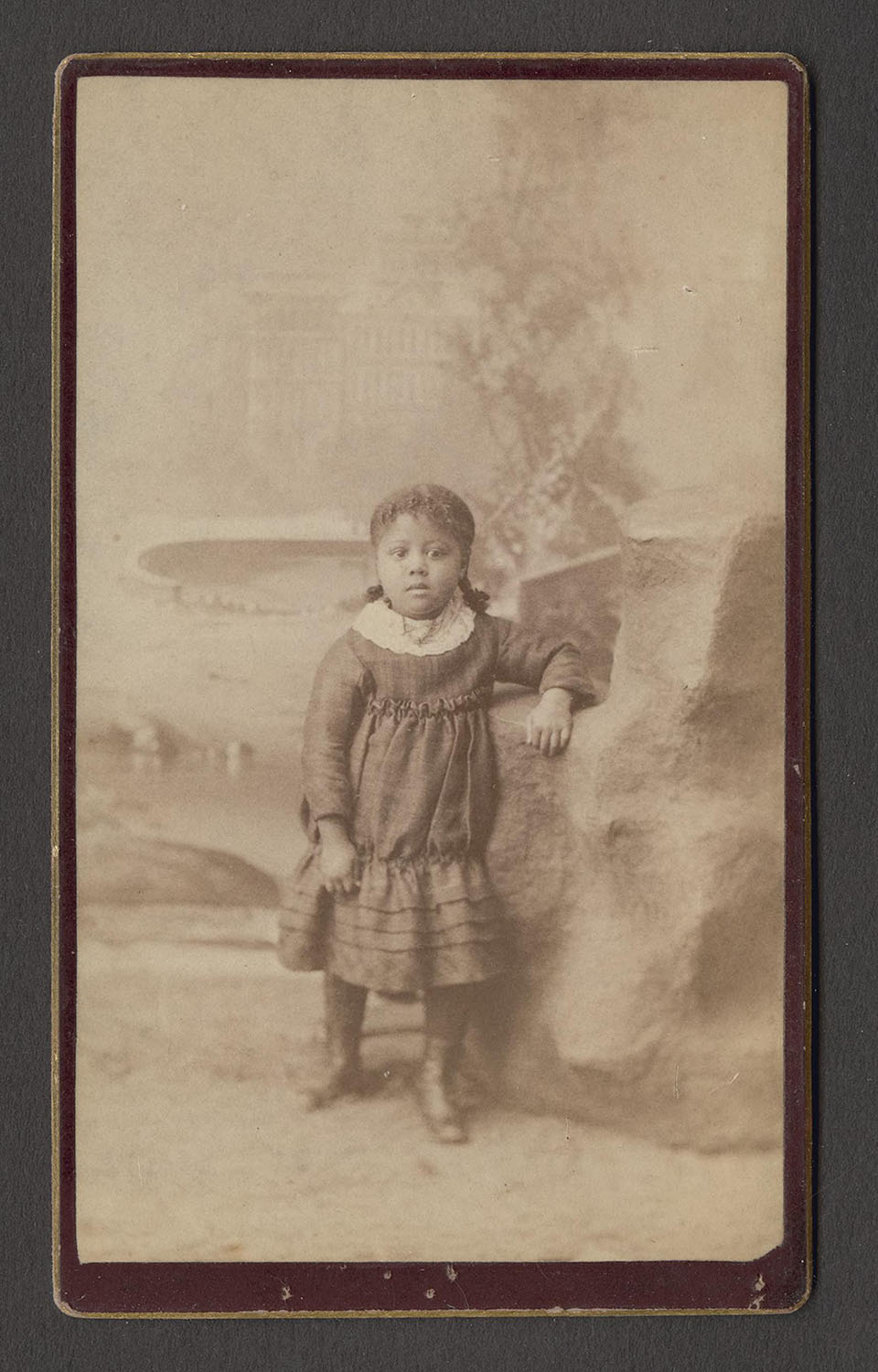girl with pigtals